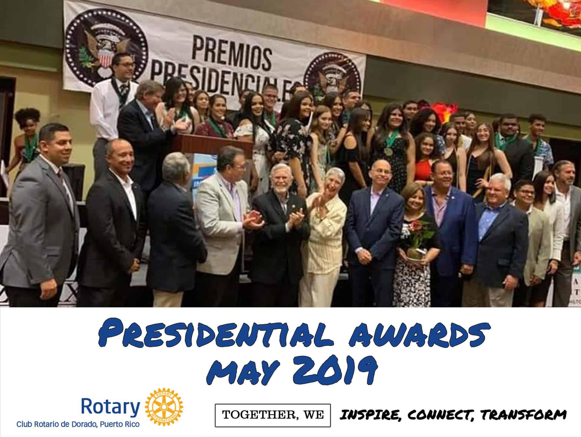 Presidential awards 2019