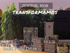 Tasis food drive 1